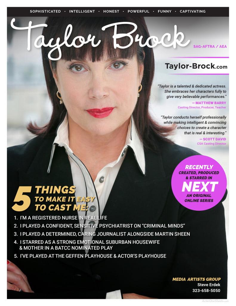 Taylor-Brock-onesheet